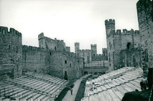 Caernarfon where Prince Charles of Wales is to be crowned.