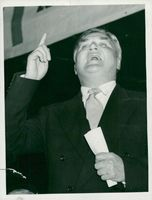 Aneurin Bevan at the party conference in Margate