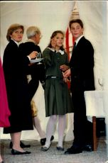 A young crown princess Victoria photographed on an unknown occasion.