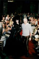 Stella Tennant and Jean Paul Gaultier