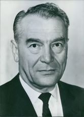 Canadian Personalities: William Epstein, chief of the Armanents Control and Enforcement Measures Section, Disarmament Affairs Group of the United Nations Department of Political and Security Council Affairs. 1963