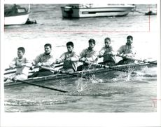 Cambridge crew training.