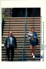Crown Princess Victoria on his way to a college at Yale, USA.