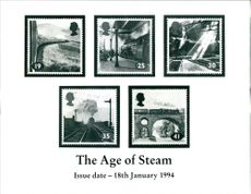 Stamps: British Commonwealth: The Age of Steam.
