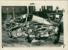 road accidents: the mangled of wreckage.