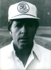 Close up of South African Golfers Gary Player.