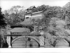 Picture of the Royal Palace in Tokyo, Japan.