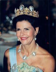 Queen Silvia at the Nobel Prize