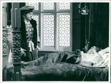 Dame Dorothy Tutin in a play.