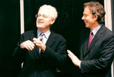 Lionel Jospin and Tony Blair at English School
