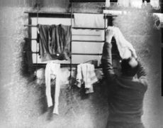 Adolf Eichmann doing his chores.