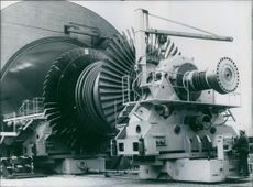 World's largest acceleration chamber in West Germany, 1974.