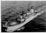 Soviet landing ship of the Polnocna class.