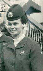 Chief stewardess anne whalley.