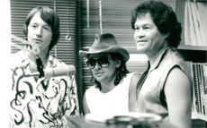 The Monkees: Peter Tork, Davy Jones and Micky Dolenz