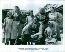 The casts of Fiddler on the Roof.