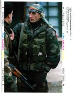 Two Bosnian government army soldiers.