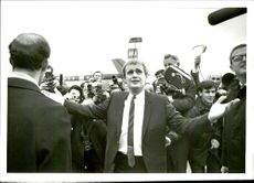 Actor David McCallum will be welcome home