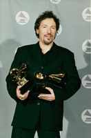 Bruce Springsteen received a prize at the Grammy Awards ceremony