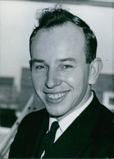 Portrait of british sportsman John Surtees, 1960.