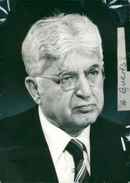 Arthur F. Burns Former Chair of the Federal Reserve of the United States.