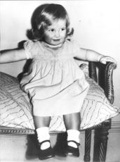 Lady Diana Spencer as a child