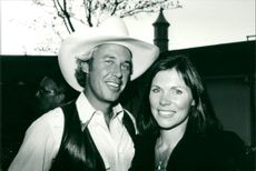 Steve Kanaly with his wife Brent