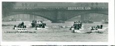 Boat Race, Oxford right