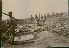 Soldiers who lost their lives during the Battle of Liaoyang 1904