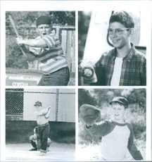 """A photo of a little kids in a film """"The Sandlot"""""""