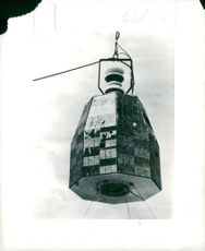 Relay, prism-shaped satellite