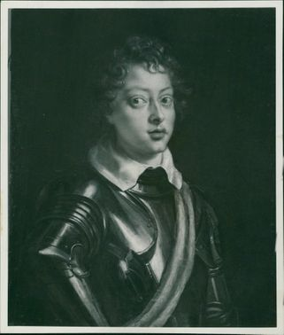 Sir Peter Paul Rubens: a painting of young man in armour.
