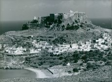 View of Island of Rhodes.