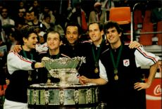 French victory in the Davis Cup 1996