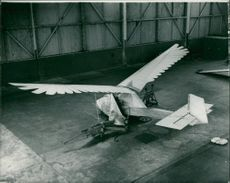 """The world's first man-powered aircraft the """"Ornithopter"""""""