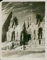 Nubian valley Egypt: temple of remeses.