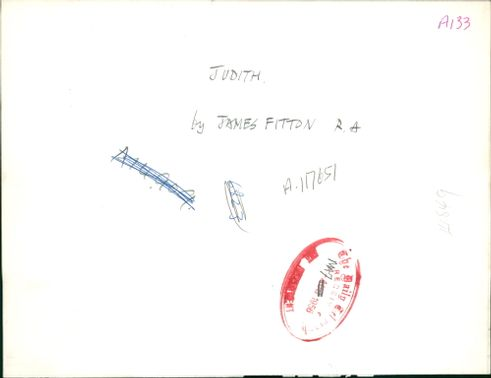 Works By James Fitton: Judith