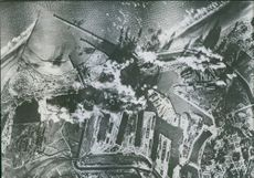 American Planes Bomb Dunkirk.