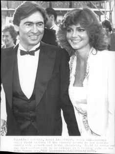 Sally Fields together with David Steinberg.