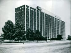 A building of ford motors company.