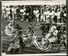 Mexican dancers perform at the opening of the 1972 Olympic Games