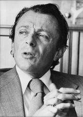 Portrait of Michel Rocard.