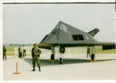 Aircraft: Military - F-117A Stealth Fighter
