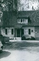 Front view of a house of a war criminal  1971
