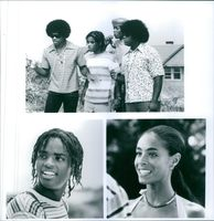 Three scenes from the film The Inkwell.