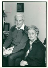 Pensioners.frank draper and joan barton
