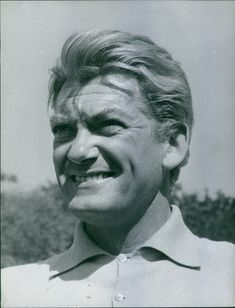 1962  A photo of a French actor, writer, director and sculptor Jean-Alfred Villain-Marais smiling.