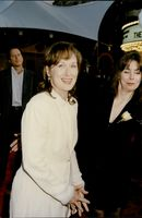 """Actress Meryl Streep at the premiere of the movie """"Bridges in Madison County"""""""