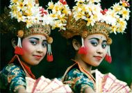 Beauty and grace from the Far East came to the east of England last night with the first performance by Bali Dance Theatre.