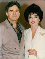 Anthony Newley and Joan Collins.